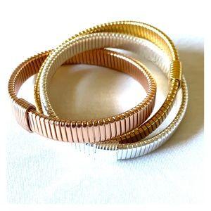 J. Crew Factory Mixed Metals Bracelet